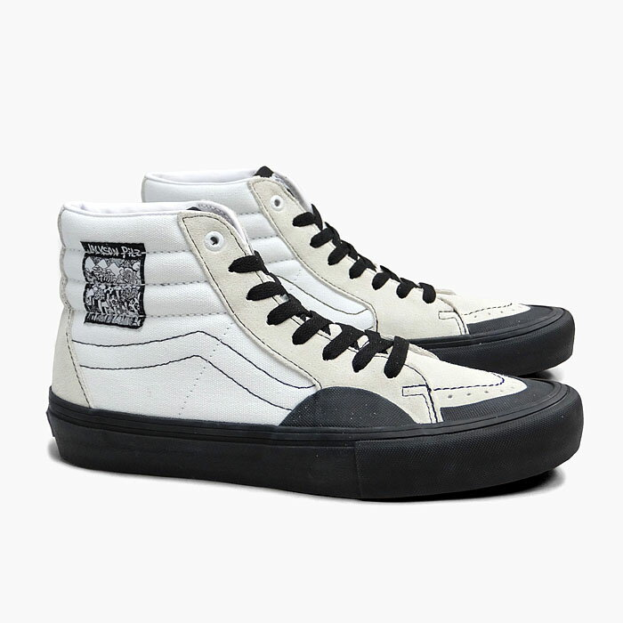 メンズ靴, スニーカー VANS SK8-HI PRO VN0A45JD5WR (JACKSON PILZ)WHITEBLACK PRO SKATE USA