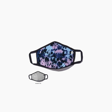 【返品交換不可】STANCE BLUE SUNSHINE MASK AH01C20BLU#BDY[スタンス リバーシブル マスク][ノンメディカルマスク/青/タイダイ/グレー/ワンサイズ/布/ほこり/花粉/飛沫/大人用]
