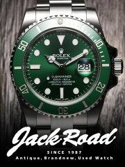 ロレックス(ROLEX) グリーン サブマリーナ デイト 116610LV 【新品】 【腕時計…