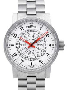 【新品】【フォルティス】【スペースマティック ホワイト・レッド】【腕時計】【メンズ】【送料...