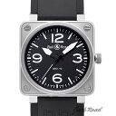 メンズ腕時計通販専門店ランキング26位 ベル&ロス BELL&ROSS BR01-92 オートマティック BR01-92B-CA 【新品】 時計 メンズ