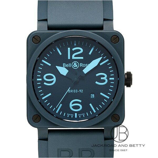 ベル&ロス BELL&ROSS BR03-92 ブルー セラミック BR03-92 BLUE C-R 新品 時計 メンズ