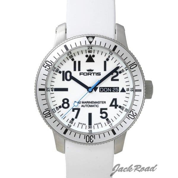 フォルティス FORTIS B-42 ホワイト マリンマスター 647.11.42SI 新品 時計 メンズ