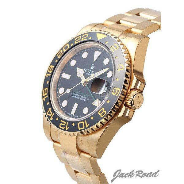 ロレックス ROLEX GMTマスターII 116718LN 【新品】 時計 メンズ