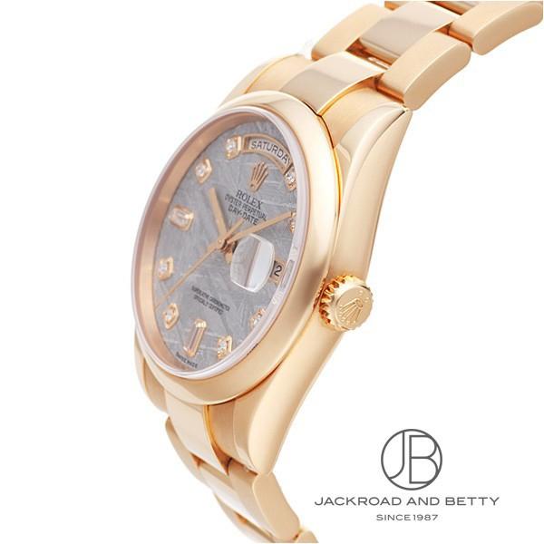 ロレックス ROLEX デイデイト 118205F MET A 新品 時計 メンズ