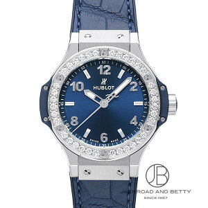 Hublot HUBLOT Big Bang Steel Blue Diamond 361.SX.7170.LR.1204 New Watch Ladies