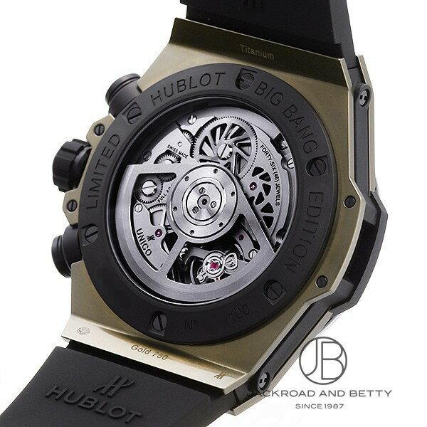 ウブロ HUBLOT ビッグバン ウニコ パーペチュアル カレンダー マジックゴールド リミテッド 406.MC.0138.RX 新品 時計 メンズ