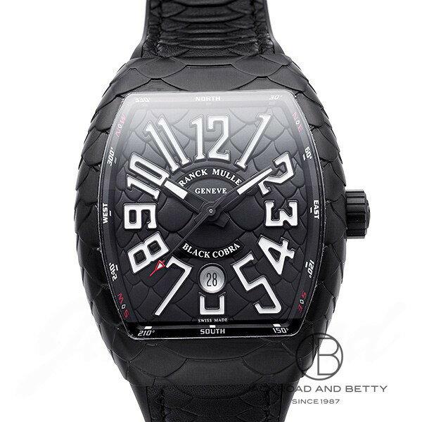 フランク・ミュラー FRANCK MULLER ヴァンガード ブラックコブラ V45SCDT BLACK COBRA 【新品】 時計 メンズ
