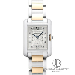 卡地亚(Машинаtier)CARTIER Tank Anglaise MM WT100032 New Watch Boys