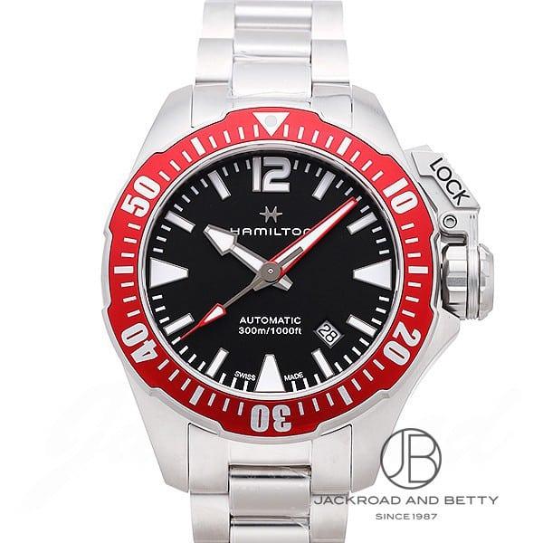 ハミルトン HAMILTON カーキ ネイビー フロッグマン H77725135 新品 時計 メンズ