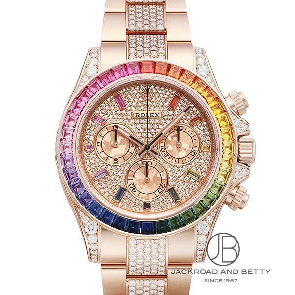 ロレックスROLEXコスモグラフデイトナレインボー116595RBOW新品時計メンズ