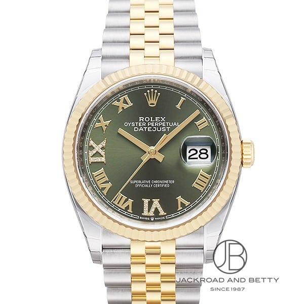 ロレックス ROLEX デイトジャスト36 126233 新品 時計 メンズ