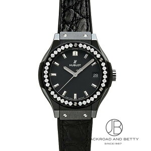 Hublot HUBLOT Classic Fusion Black Magic Diamond 581.CM.1170.LR.1104 New Watch Ladies
