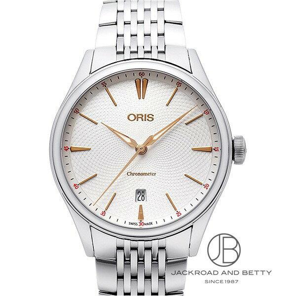 オリス ORIS アートリエ クロノメーター デイト 737 7721 4031 新品 時計 メンズ