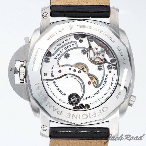 パネライ PANERAI ルミノール1950 8デイズ GMTクロノグラフ モノプルサンテ PAM00275 【新品】 時計 メンズ