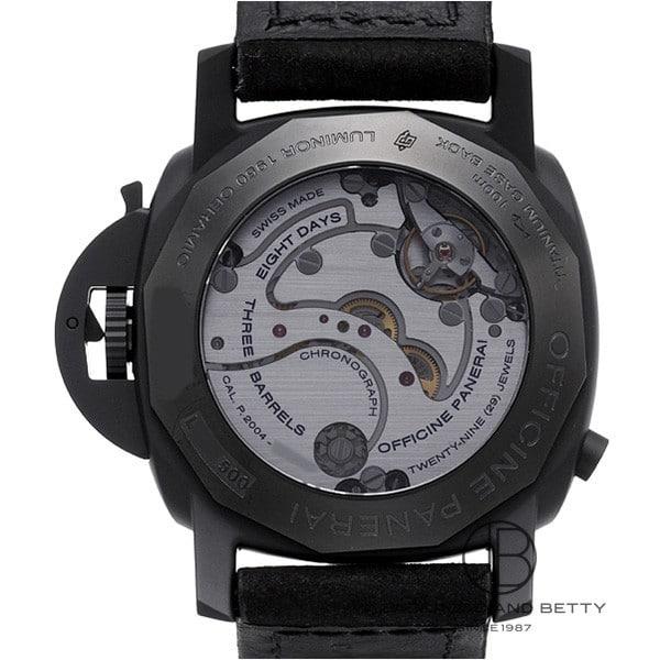 パネライ PANERAI ルミノール1950 8デイズ GMTクロノグラフ モノプルサンテ PAM00317 【新品】 時計 メンズ
