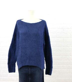 [30%OFF][ekuo equo]羊毛納伊倫敦靴子一號二號粘土一字領編織物套衫.176-009-1141502[女士]