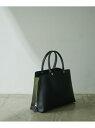 【新色追加】【E'POR】Y bag Medium (サイドジップトートバッグ) ROPE' ロペ バッグ ハンドバッグ グレー ブラック ブラウン ホワイト ベージュ ブルー パープル ピンク イエロー【送料無料】[Rakuten Fashion]