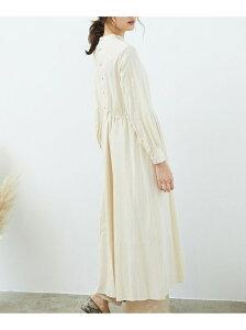 [Rakuten Fashion]【SALE/60%OFF】スタンドネックワンピース ROPE' PICNIC ロペピクニック ワンピース ワンピースその他 レッド ベージュ【RBA_E】