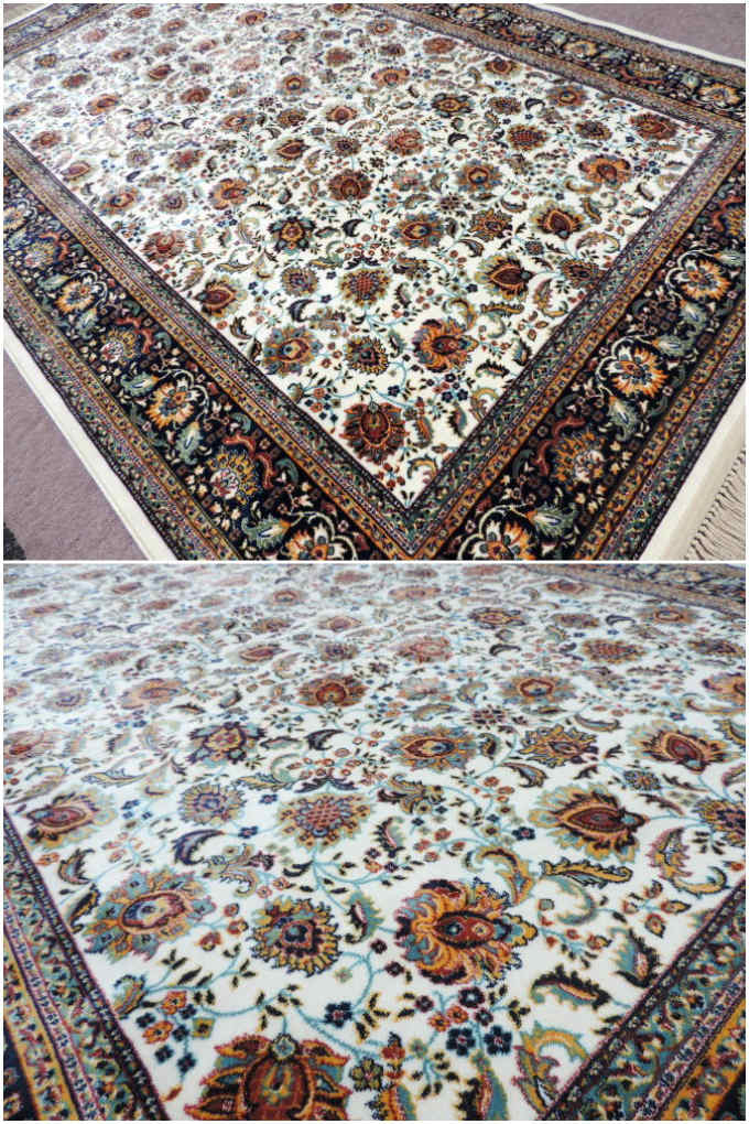 JAHAN『機械織りペルシャ絨毯(0718-m)』