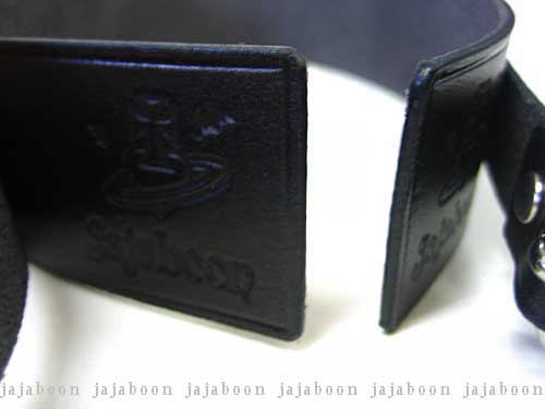 JAJABOON 本革ベルトチョーカーブラック 本革(レザー)製
