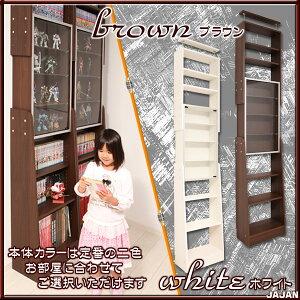 天井突っ張りコレクションケース天井つっぱりサブカルラック壁面収納/書棚/本棚/コレクションディスプレイ/JAJAN/フィギュアラック