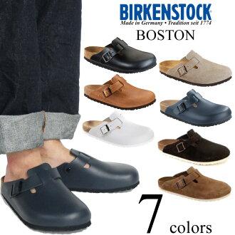 Birkenstock-BIRKENSTOCK Boston antique Brown ( BOSTON ANTIQUE BROWN leather sandal clog )