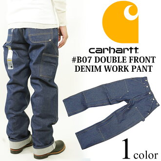 Carhartt Carhartt B07 double front denim painter pants ( DOUBLE FRONT DENIM WORK PANT work pants double knee )