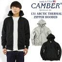 キャンバー CAMBER 131 アークティックサーマル ジップフード MADE IN USA (米国製 スウェット パーカー)