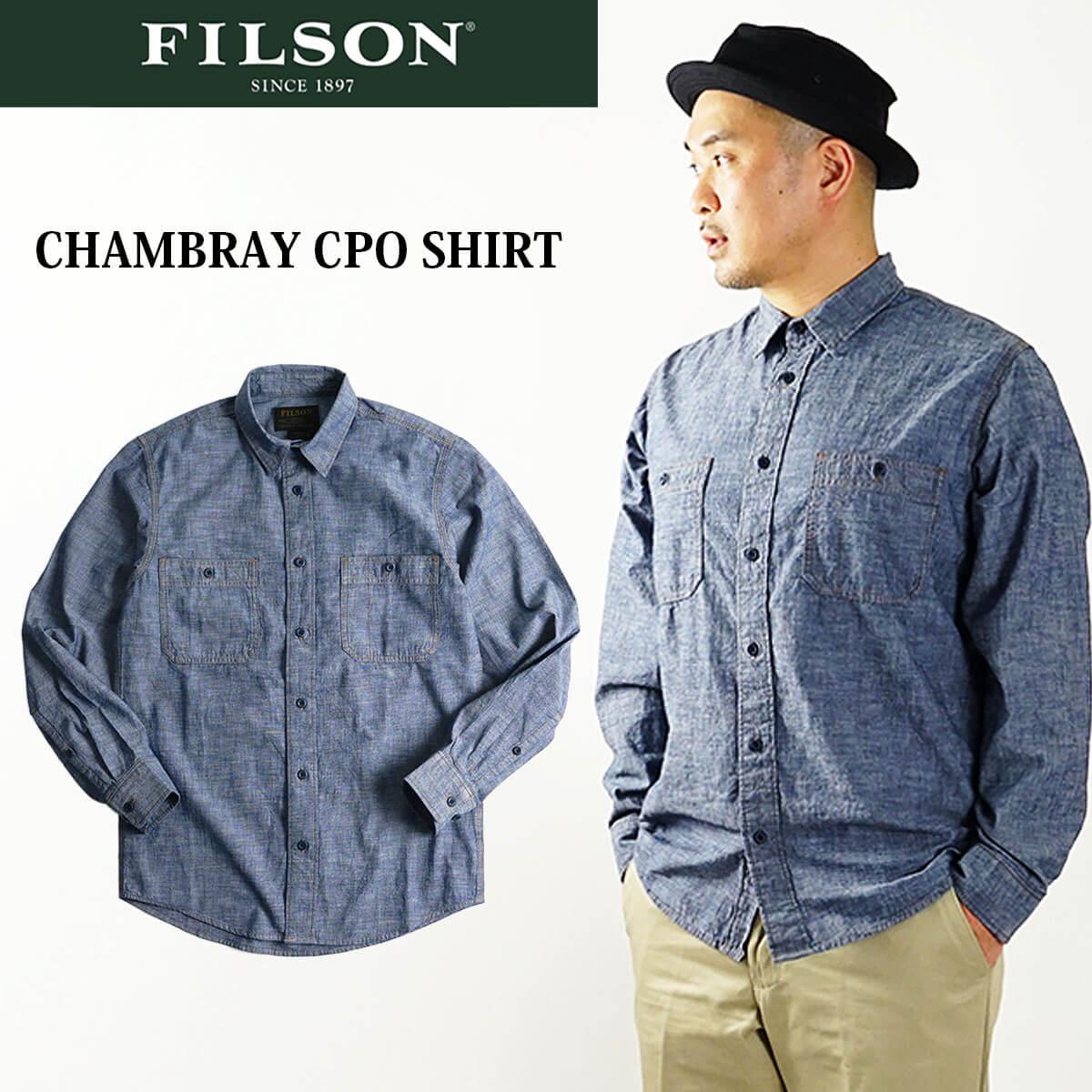 トップス, カジュアルシャツ  FILSON CPO (20189139 XS-XXL )