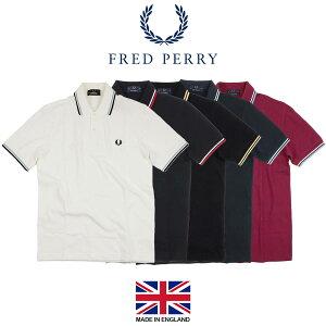 フレッドペリー FRED PERRY M12 ツインティップド 半袖 ポロシャツ(メンズ TWIN TIPPED 英国製 イングランド製 鹿の子)
