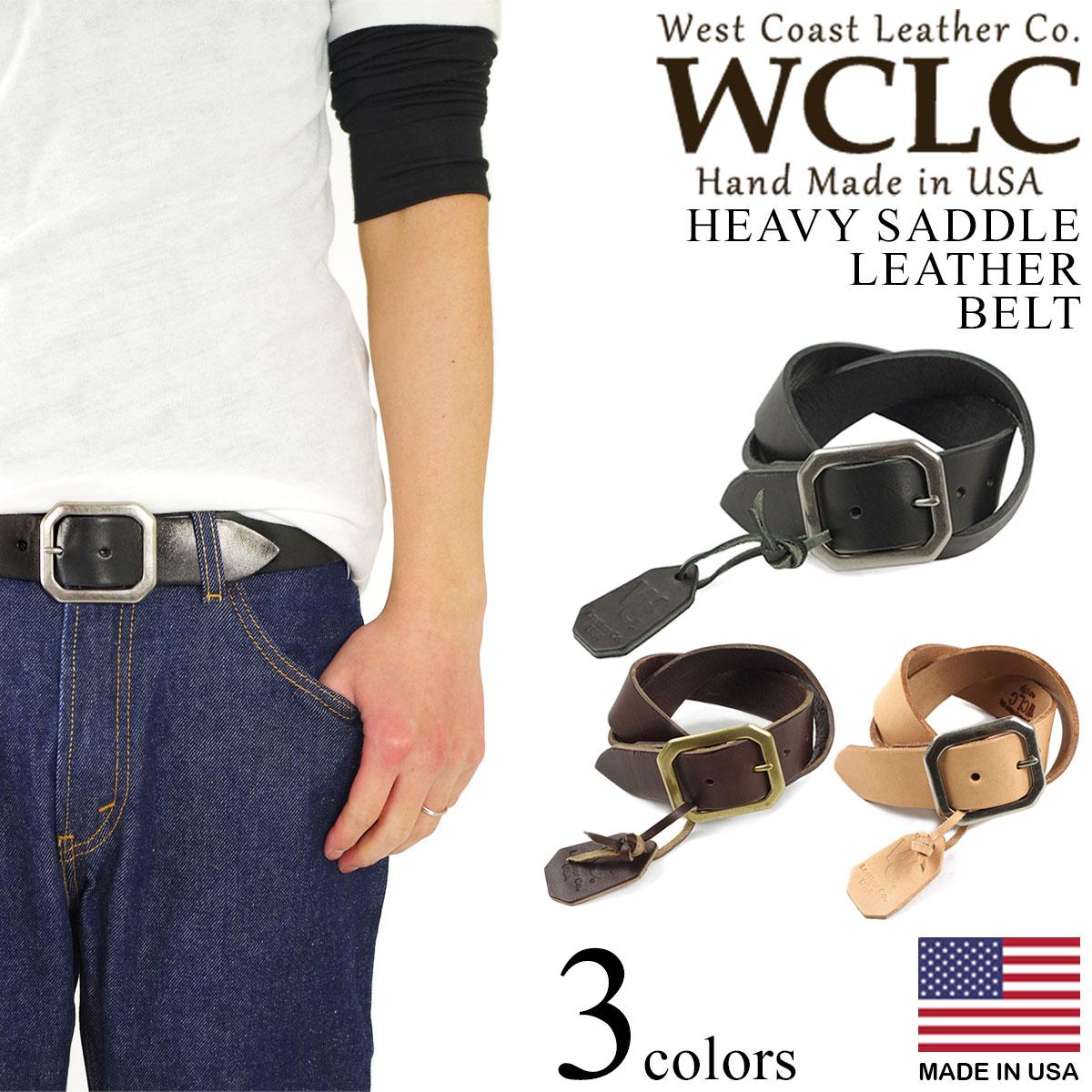 ベルト・サスペンダー, メンズベルト WCLC (4.55mm West Coast Leather Company MADE IN USA