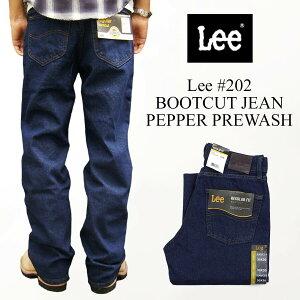 リー Lee #202 ブーツカット ジーンズ ペッパープリウォッシュ (BOOTCUT JEAN Pepper Prewash)
