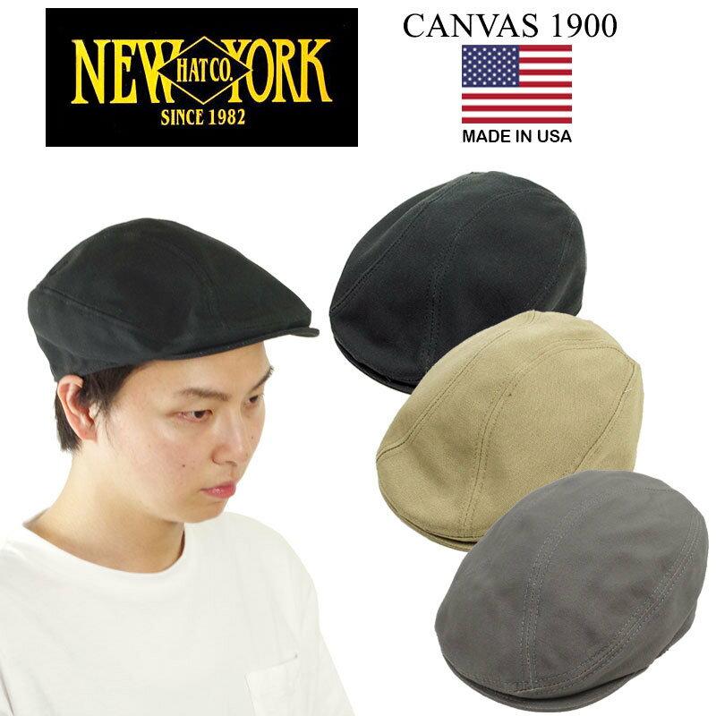 メンズ帽子, ハンチング・キャスケット  NEWYORK HAT 1900 ( CANVAS 1900