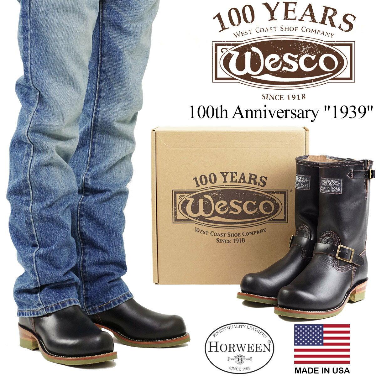 ブーツ, エンジニア  Wesco 1939 100 (