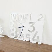 掛け時計 ホワイト デザイナーズ ウォール クロック インテリア デザイン おしゃれ モノトーン シンプル