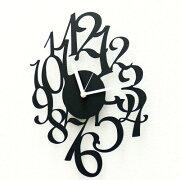 掛け時計 デザイナーズ mellifluousTIME おしゃれ モノトーン