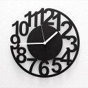 REGULARITYTIME 掛け時計 壁掛け時計 掛時計 デザイナーズ 北欧おしゃれ モノトーン 時計 アイアン クロック