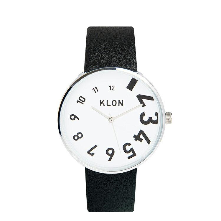【12/1以降の発送予定】KLON 腕時計 EDDY TIME THE WATCHクローン おしゃれ本革ユニセックスモノトーン