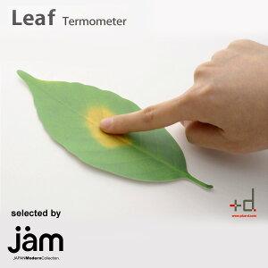 プラスディーの紙でできた温度計。温度によって葉っぱの色が変化します。【送料無料】 Leaf (...