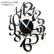 【鉄時計】mellifluous TIME (メリフラスタイム)|デザイナーズ壁掛け時計壁掛け時計【楽ギフ_包装】【楽ギフ_メッセ】