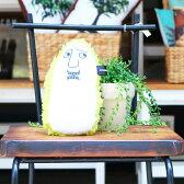 【クッション】 キミドリノニギニギ [Desk de NIGINIGI] ふわふわクッション オリジナル 腰当 首あて ツボ押し 肩たたき リストレスト インテリア雑貨 デザイン雑貨 おしゃれ パソコンクリーナー マウスパッド 