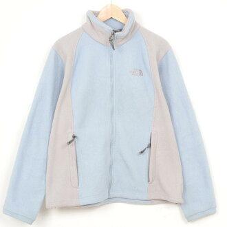 USA舊衣服THE NORTH FACE♪nosufeisufurisufurujippu JKT/尺寸L/web4921♪#WEARLADYS#女士#外衣#OUTD#NORTH#LL~#pat#blu#otd#rnkb#140519#