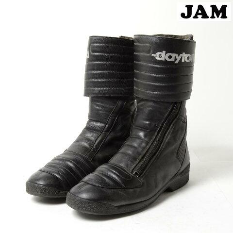 バイクブーツメンズ25.5cmDAYTONA/bog5840【古着屋JAM】【中古】【あす楽対応】150114