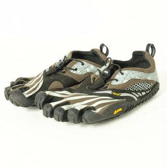 口水巾羊羔FiveFingers戶外運動鞋36女子的22.5cm Vibram/boi7453 160518