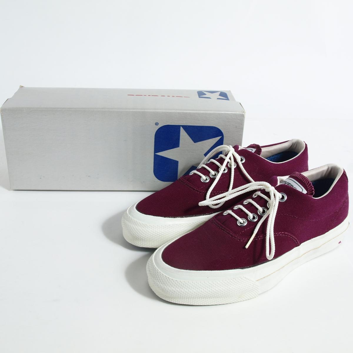 レディース靴, スニーカー  80 USA SKIDGRIP LOW MAROON US4 23.0cm CONVERSE jam0357161028