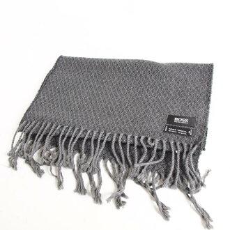 Hugo老闆意大利製造總花紋羊毛圍巾HUGO BOSS/anb3461