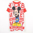 MICKEY MOUSE ミッキーマウス USA製 Tシャツワンピース フリーサイズ MICKEY UNLIMITED /wab7716 【中古】 【170406】