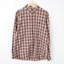 ラルフローレン 長袖 ボタンダウンチェックシャツ メンズXL Ralph Lauren /wab0328 【中古】 【170413】