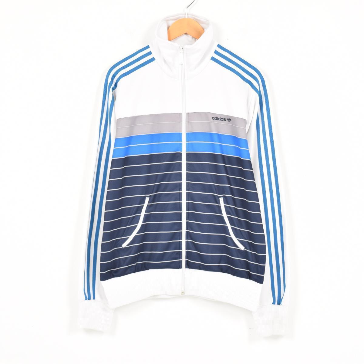 アディダス adidas ORIGINALS オリジナルス ジャージ トラックジャケット メンズM /wad0432 【中古】 【170807】